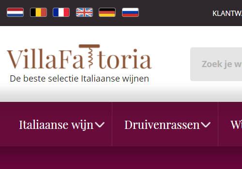 Villa Fattoria Italiaanse wijnen